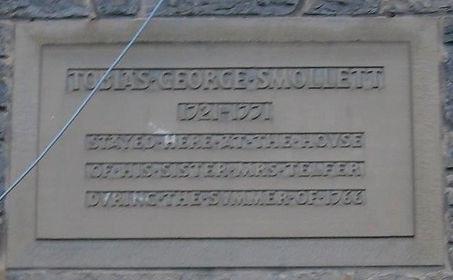 George Smollett Plaque St John's Pend Ca