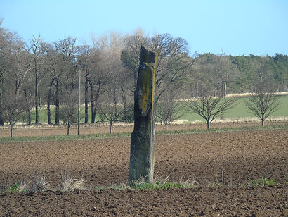 Kirklandhill Standing Stone. Tyninghame