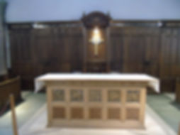 Communion Table Greyfriars Kirk Edinburg