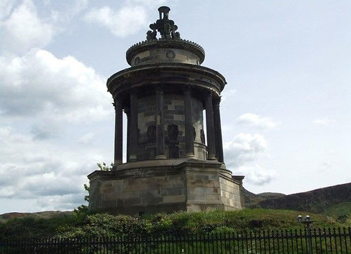 Robert Burns Memorial Regent Road Edinburgh