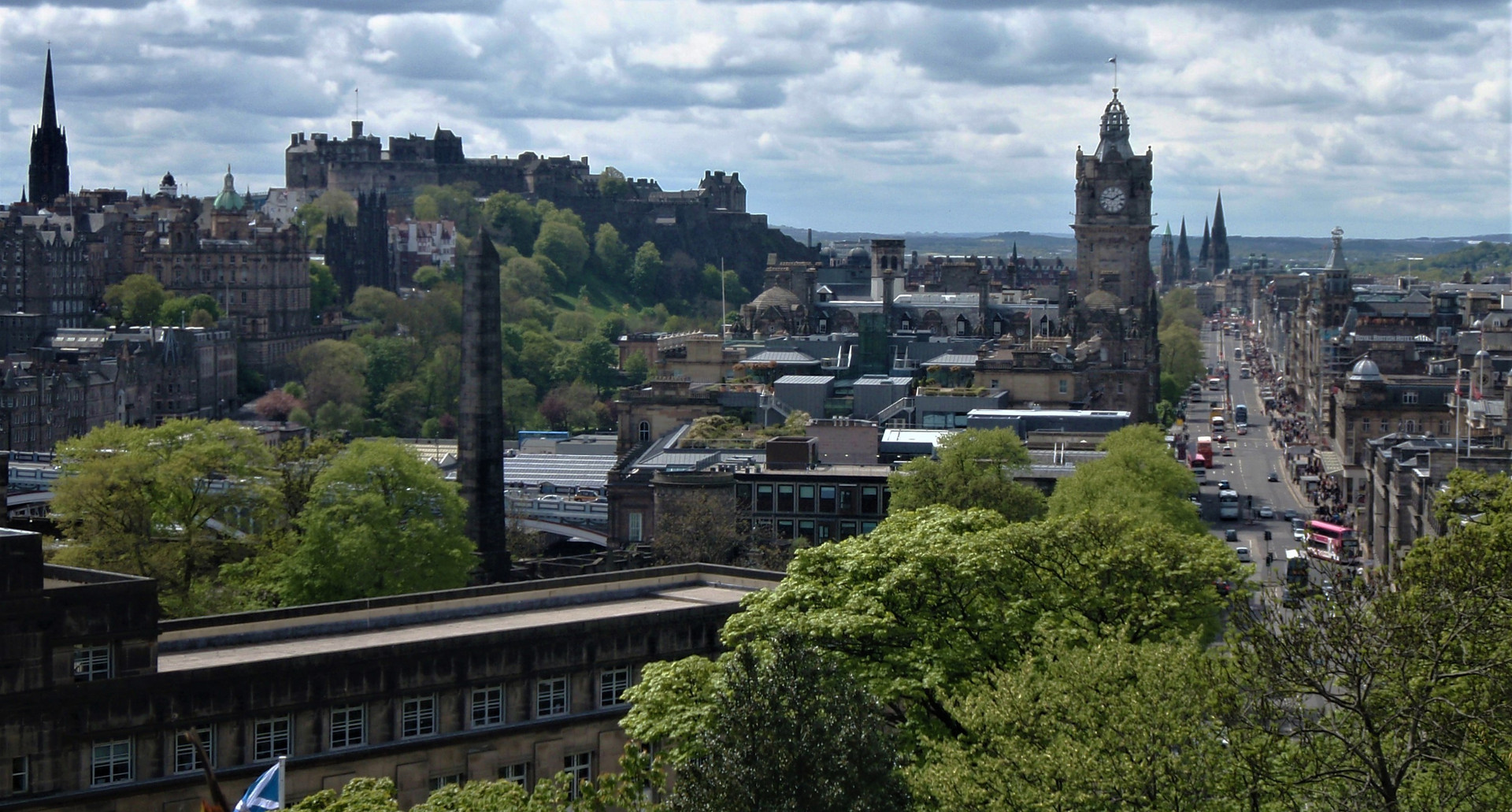 Edinburgh City Centre and Edinburgh Catl