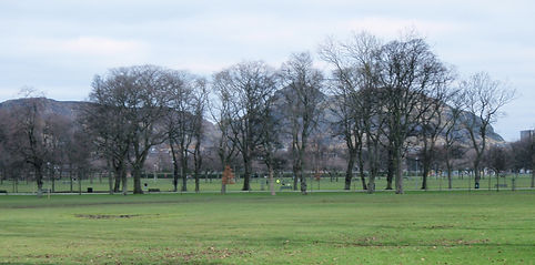 East Meadows. Edinburgh 1 mile loop