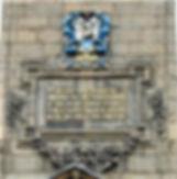Canongate Kirk Wall Tablet, Edinburgh