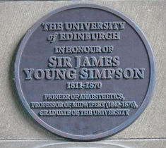 Sir James Young Simpson University of Edinburgh Medical School