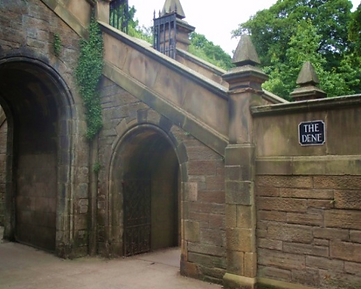 The Dene Archway to St Bernard's Well