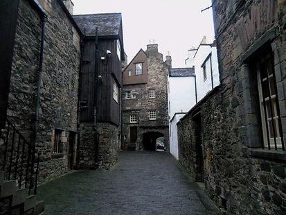 Bakehouse Close. Canongate Edinburgh