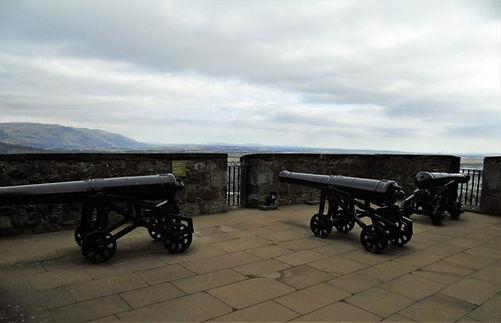 Stirling Castle Three Gun Battery