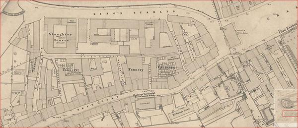 west port burkes house Plan of West Port Suburbs
