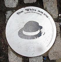 Tam White Disc Shore Leith Edinburgh
