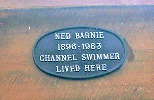 Ned Barnie Channel Swimmer Lived Here Portobello Edinburgh