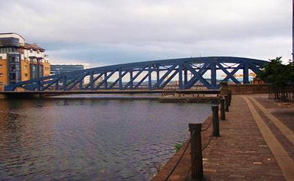 VICTORIA SWING BRIDGE 1874 LEITH