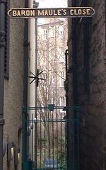 Baron Maule's Close High Street Edinburg
