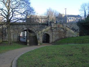The Dene. Stockbridge Edinburgh