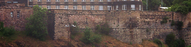 Old Calton Jail Wall Edinburgh