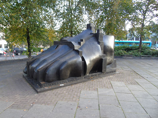 Professor Sir Eduardo Luigi Paolozzi Sculptor The Foot