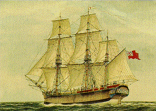 PICTURE OF HMS SIRIUS BUILT IN NEWHAVEN