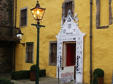 Edinburgh Museum Entrance Canongate Edin