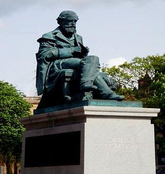James Clark Maxwell Statue George Street
