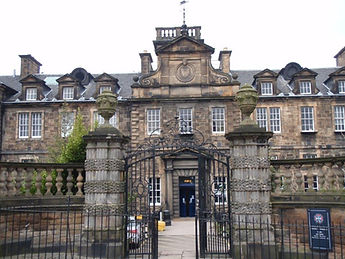 Royal Infirmary Gates Flodden Wall Route Edinburgh City Wall