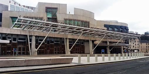 Scottish Parliament Building Edinburgh