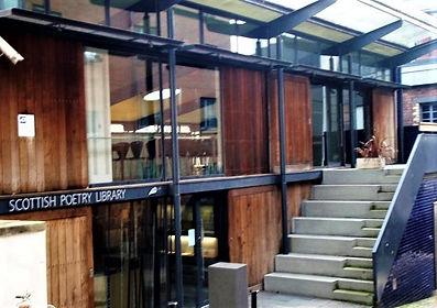 Scottish Poetry Library, Canongate Edinb