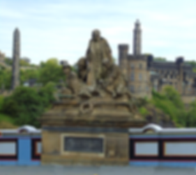 Memorial to the KOSB Regiment on North Bridge Edinburgh