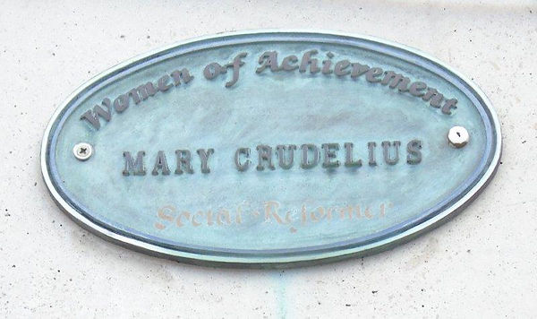 Edinburgh Ladies' Educational Association Blue Plaque Women of Achievement Mary Cruelius