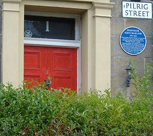 Professor John Barlow Pilrig Street Leit