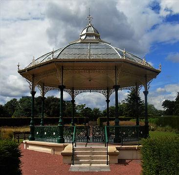 Saughton Park Bandstand Edinburgh