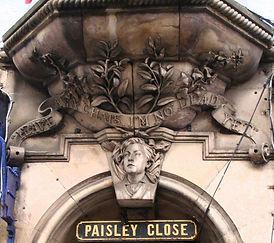 Paisley Close High Street Royal Mile Edi