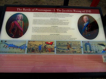 Battle of Prestonpans 1745 Story Board East Lothian