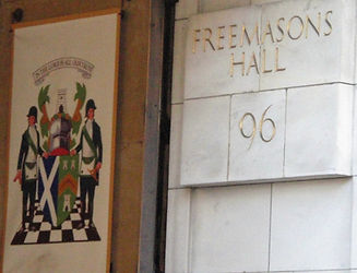 allaboutedinburgh sign Freemason's Hall George Street Edinburgh