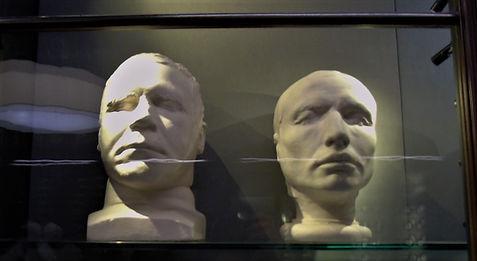 Burke and Hare Death Masks West Port Murders Grassmarket Edinburgh