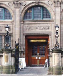 Central Library George IV Bridge Edinburgh First Library in Scotland