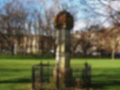 The Prince Albert Sundial west Meadows Edinburgh