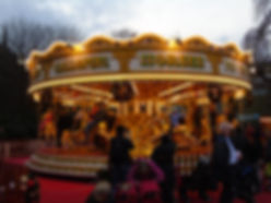 Christmas Festival edinburgh Merry-go-round