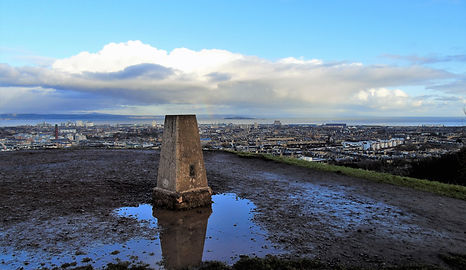 Calton Hill Cairn at the Top of Calton Hill Edinburgh