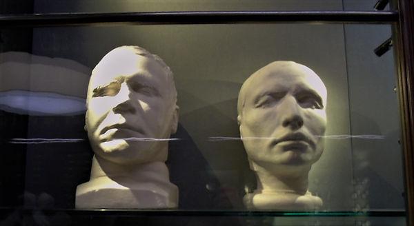 Burke and Hare Death Masks Scottish Nati