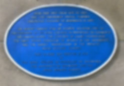 Physic Garden Plaque Waverly Station