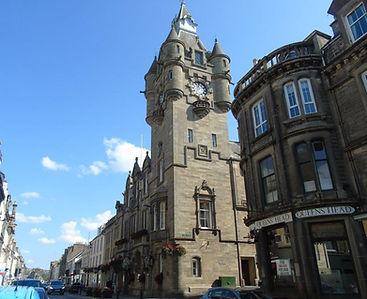 Hawick Town Hall Scottish Borders Attrac