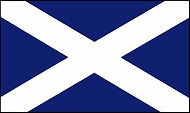 Scottsh Team Flag