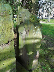 Standing Stone Women in Stone Carving George Square