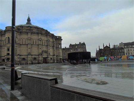Bristo Square and McEwan Hall University of Edinburgh Bristo Square Teviot Row House Central Campus