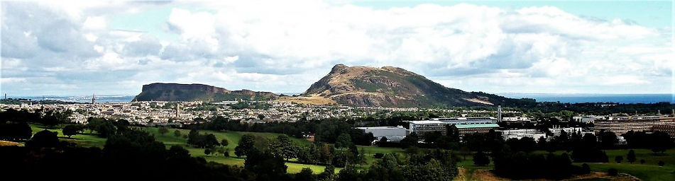 Arthur Seat Extinct Volcano Edinburgh Scotland