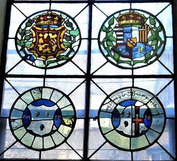 Stain  Glass Window Magdalen Chapel (3).