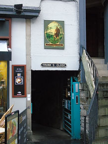 Trunk's Close High Street Royal Mile Edi
