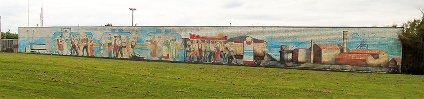 Cockenzie Power Station Mural East Lothi