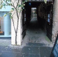 Buchanan's Close Lawnmarket Royal Mile Edinburgh