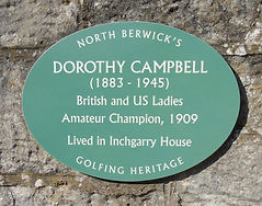 Dorothy Campbell British and US Ladies G