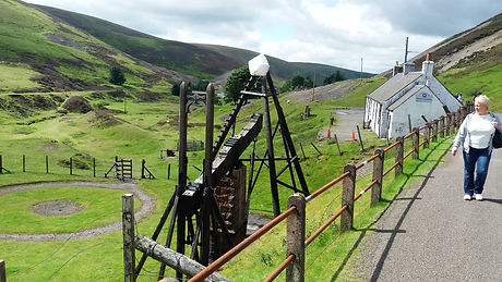 Wanlockhead Village Scotland